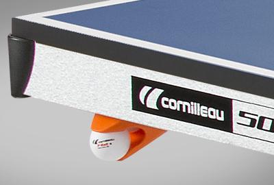 Imágen de tenis de mesa CORNILLEAU Sport 500 Indoor detalles dispensador pelotas