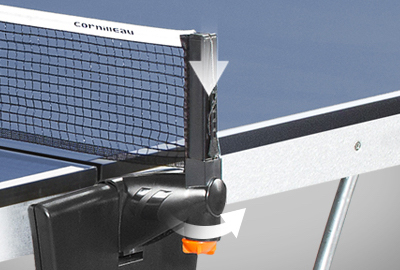 Imágen de la mesa de tenis CORNILLEAU Sport 500 Indoor red ajustable