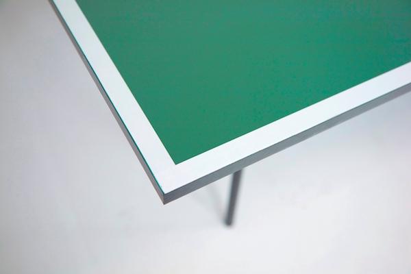 Imagen del tablero de la mesa de ping pong Garlando Challenge indoor
