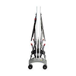 Kettler TT-Platte AXOS Outdoor 1 mesa de tenis de mesa plegada perfil