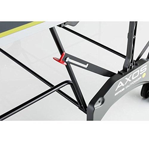 Sistema de bloqueo en la mesa de ping pong para exteriores Kettler TT-Platte AXOS Outdoor 1