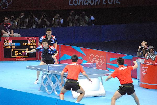 ping pong en los juegos olímpicos de Londres 2012