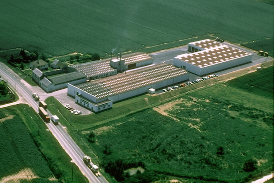 Bonneuil-les-Eaux sede de Cornilleau fábrica de mesas de ping pong