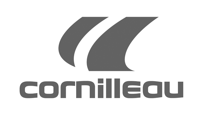 CORNILLEAU-Logo fabricante mesas de ping pong y accesorios de tenis de mesa