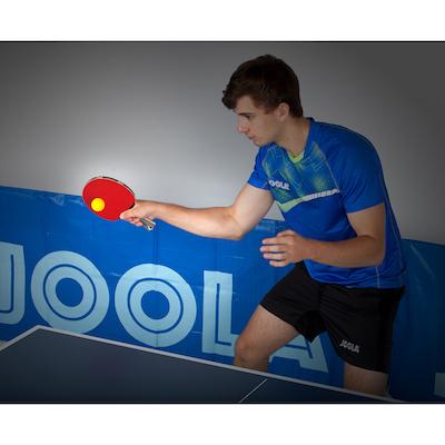 Joola carbon pro raqueta de ping pong detalle de juego