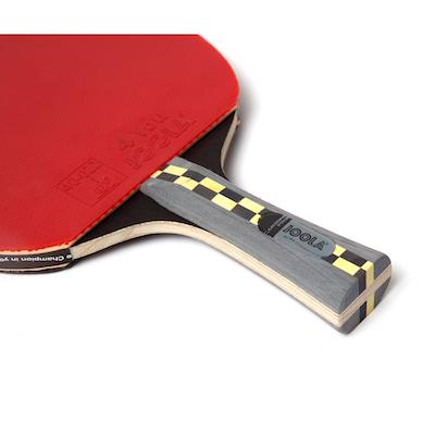 Joola carbon pro raqueta de ping pong detalle mango