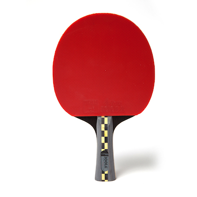 Joola carbon pro raqueta de ping pong goma roja