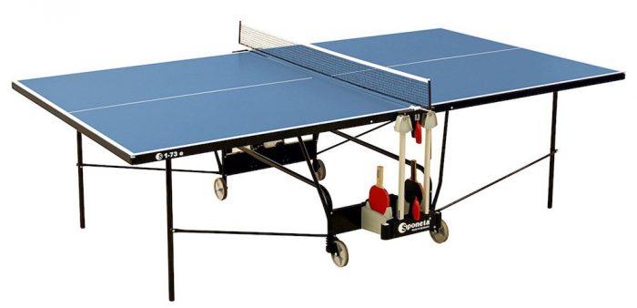 Imagen de la mesa de ping pong barata para exterior Sponeta Gameline S 1-73e