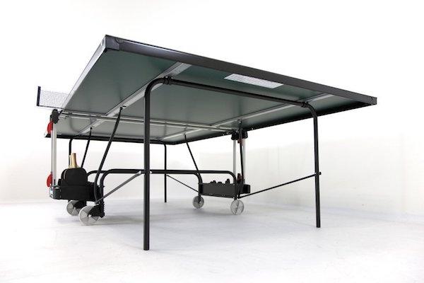 Sponeta Gameline S 1-73e estructura y ruedas de la mesa de ping pong para exterior