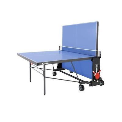 Sponeta S 4-73 E Expert Line mesa de ping pong posicion semi plegado modo frontón