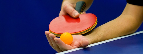 table-tennis servicio