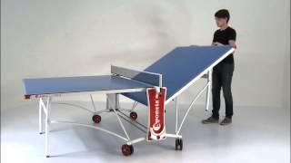 Sponeta Sportline 3-87 i mesa de ping pong plegado fácil