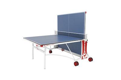 Sponeta Sportline 3-87 i mesa de ping pong semi plegada