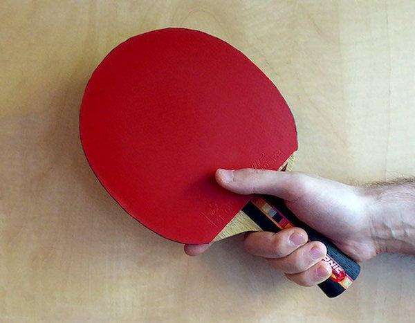 Los diferentes tipos de empuñaduras en ping pong