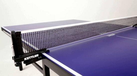 medidas de la red en ping pong